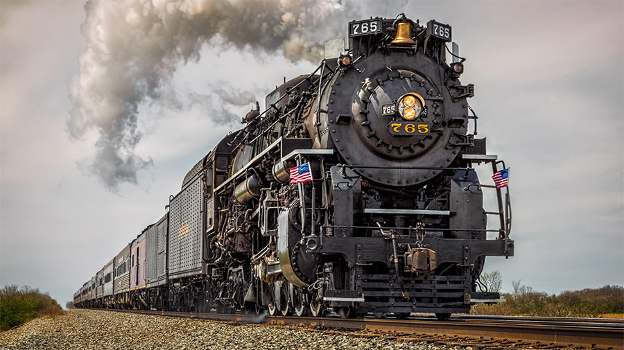 The Second Most Photographed Steam Train in the World ...